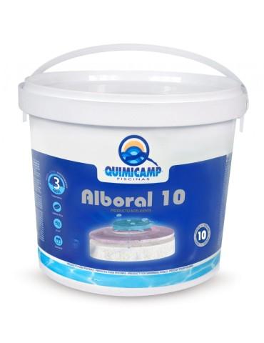CLORO ALBORAL 10 ACCIONES TABLETAS 250 GRS BOTE 5KG