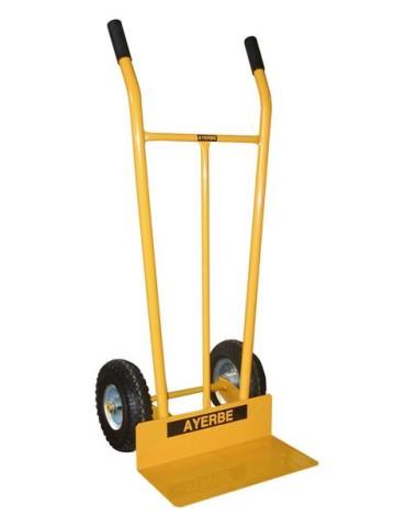 CARRO ALMACEN ACERO 300KG.R/NEUM.580470