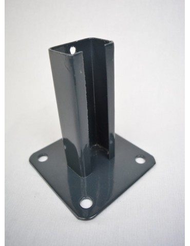 BASE POSTE 60/40 DELFIN VERDE 150X150MM C/CASQUILLO