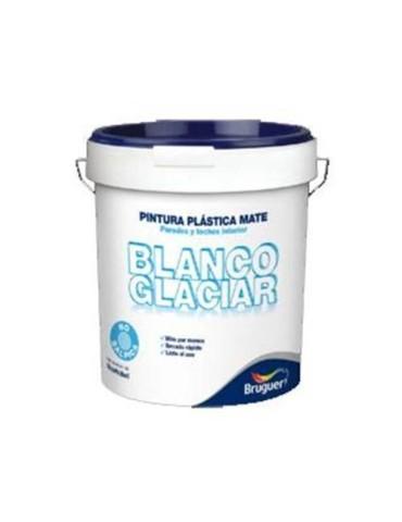 PINTURA PLASTICA INT. MATE BCO GLACIAR 15 L.