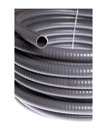 CAJA DE 50 TUBO PVC FLEXIBLE 25X20 GRIS R/50M 231018