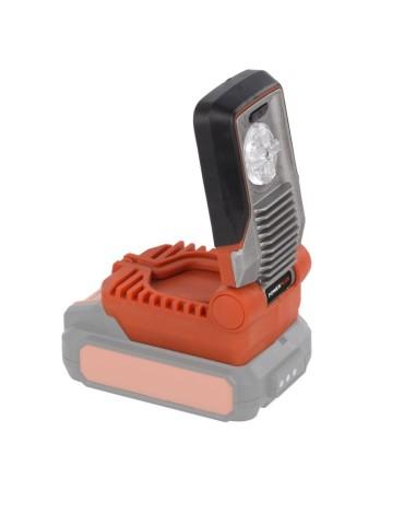 LINTERNA LED 20/40 LI 5W POWDP8010 S/BATERIA DUAL POWER*