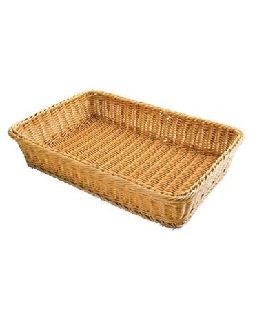 CESTA PAN RECTANGULAR 63490 53X33.5X9
