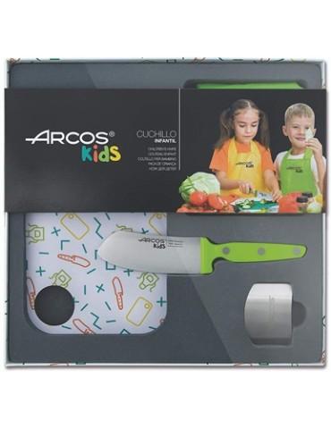 JUEGO CUCHILLOS ARCOS KIDS 792721 VERDE