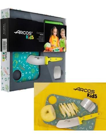 JUEGO CUCHILLOS ARCOS KIDS 792725 AMARILLO
