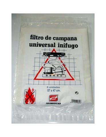 FILTRO CAMPANA PAPEL 57X47 CM. 6UDS 800
