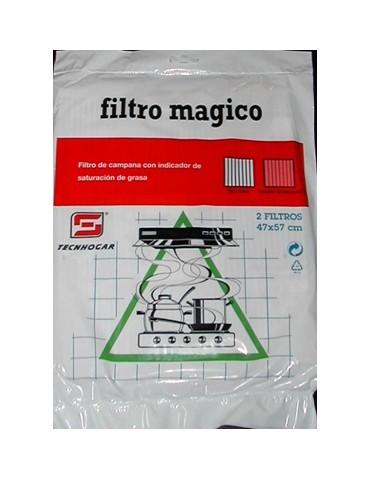 FILTRO CAMPANA MAGICO 57X47 CM 2 UDS 807