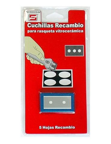 CUCHILLAS RECAMBIO RASQUETA 5 UDS 953