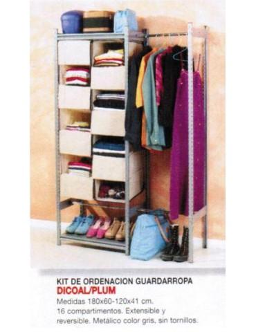 KIT ORDENACIÓN/GUARDARROPA KCTDR1GG EXT.