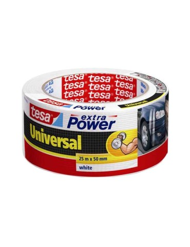 CINTA AMER.EXTRA-POWER 56388 25X50 BLANCO