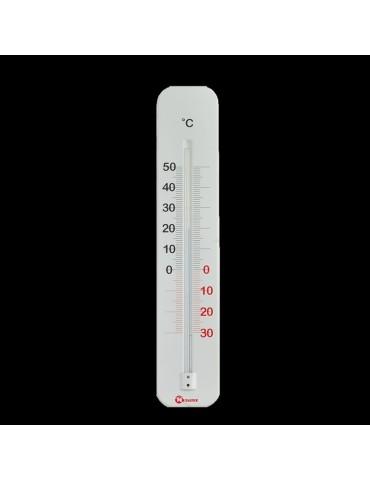 TERMOMETRO METALICO 298012 INT/EXT S/MERCURIO CELSIUS 29CM
