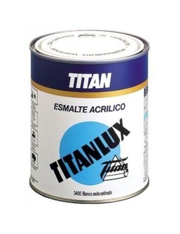 PINT. TITANLUX ESMALTE ACRILICO BRILL.750ML BLANCO NIEVE