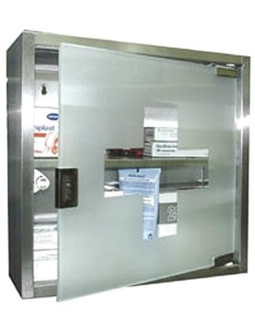 BOTIQUIN 00591 ACERO INOX 300X300X120 CM