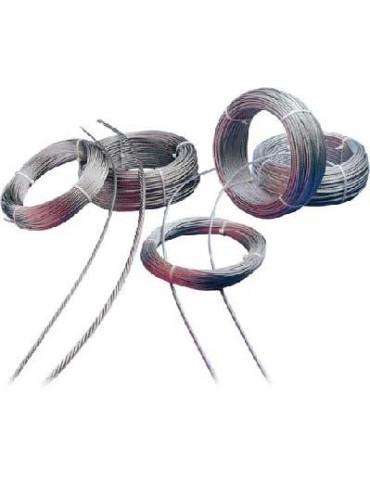 CAJA DE 100 CABLE INOX AISI 316 02/07X07+0