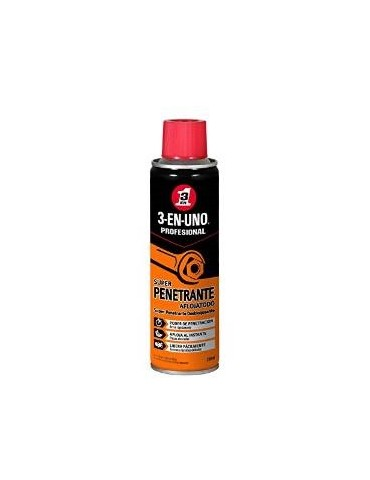 3 EN UNO SPRAY AFLOJATODO 34528 SUPER PENETRANTE 250ML