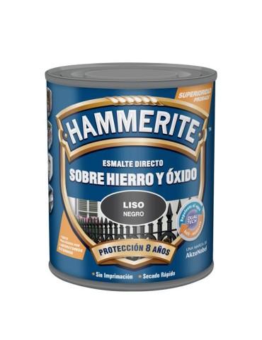 CAJA DE 6 HAMMERITE ESM.LISO BRILL.250ML MARRON