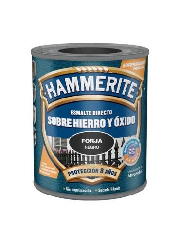 CAJA DE 6 HAMMERITE ESM.FORJA 750ML NEGRO
