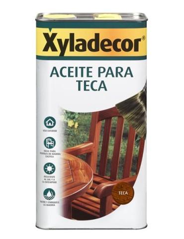 XYLADECOR ACEITE TECA 5L MIEL 5089088