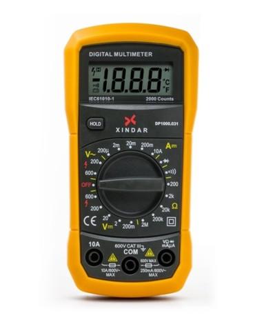 MULTIMETRO DIGITAL PROF DP1000.031 XINDAR