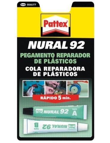 CAJA DE 12 NURAL 092 022ML.1766697 ADHES.TRANSP. BL.(PLASTICOS)