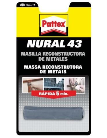 CAJA DE 12 NURAL 043 BARRA 48GR C/GRIS. 1843791(METALES)
