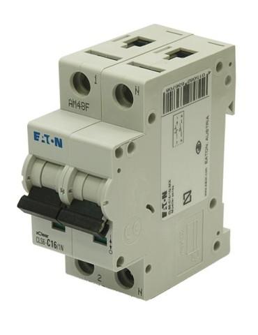 INTERRUPTOR AUTOMAT.CLS6-C16/1N-MX 1P+N 16A
