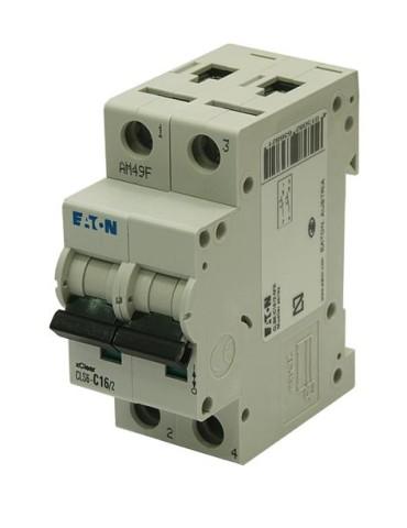 INTERRUPTOR AUTOMAT.CLS6-C16/2-MX 2P 16A