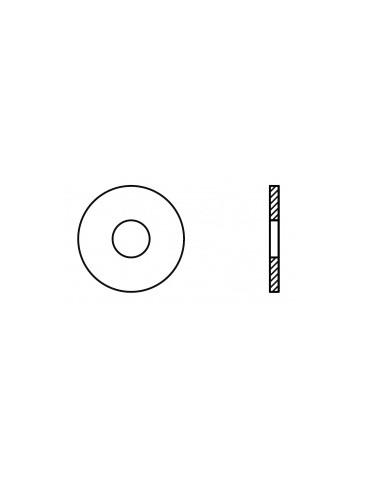 CAJA DE 2000 ARANDELA PLANA ANCHA INOX M03 9021 A2