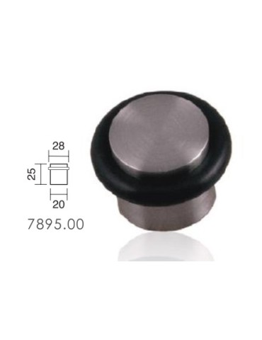 TOPE PUERTA ATOR. INOX 78950020 C/TORICA 25X20