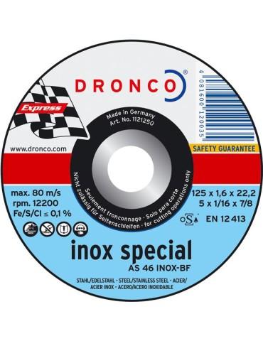 DISCO C.INOX 230X1,9X22,2 DRONCO SPECIAL AS46TINOX-230