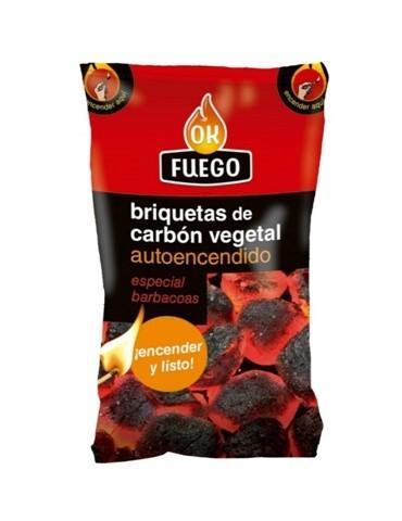 BRIQUETA CARBON ENCENDIDO...