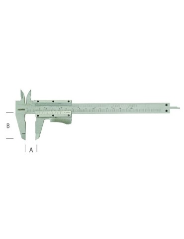 CALIBRE INOX 160MM 10039...