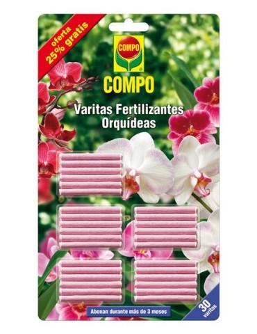 BARRITAS FERTILIZANTE ORQUIDEAS (24+6)1197802011