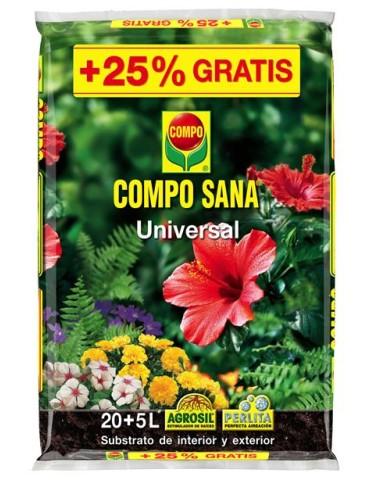 TIERRA 20LTS+5LTS COMPO SANA 11209 UNIVERSAL