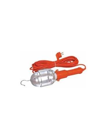 LAMPARA PORTATIL MT34947 TALLER 60W+10MTS CABLE