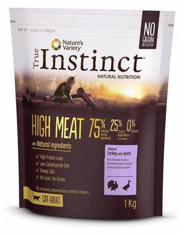 INSTINCT HIGH MEAT PAVO...